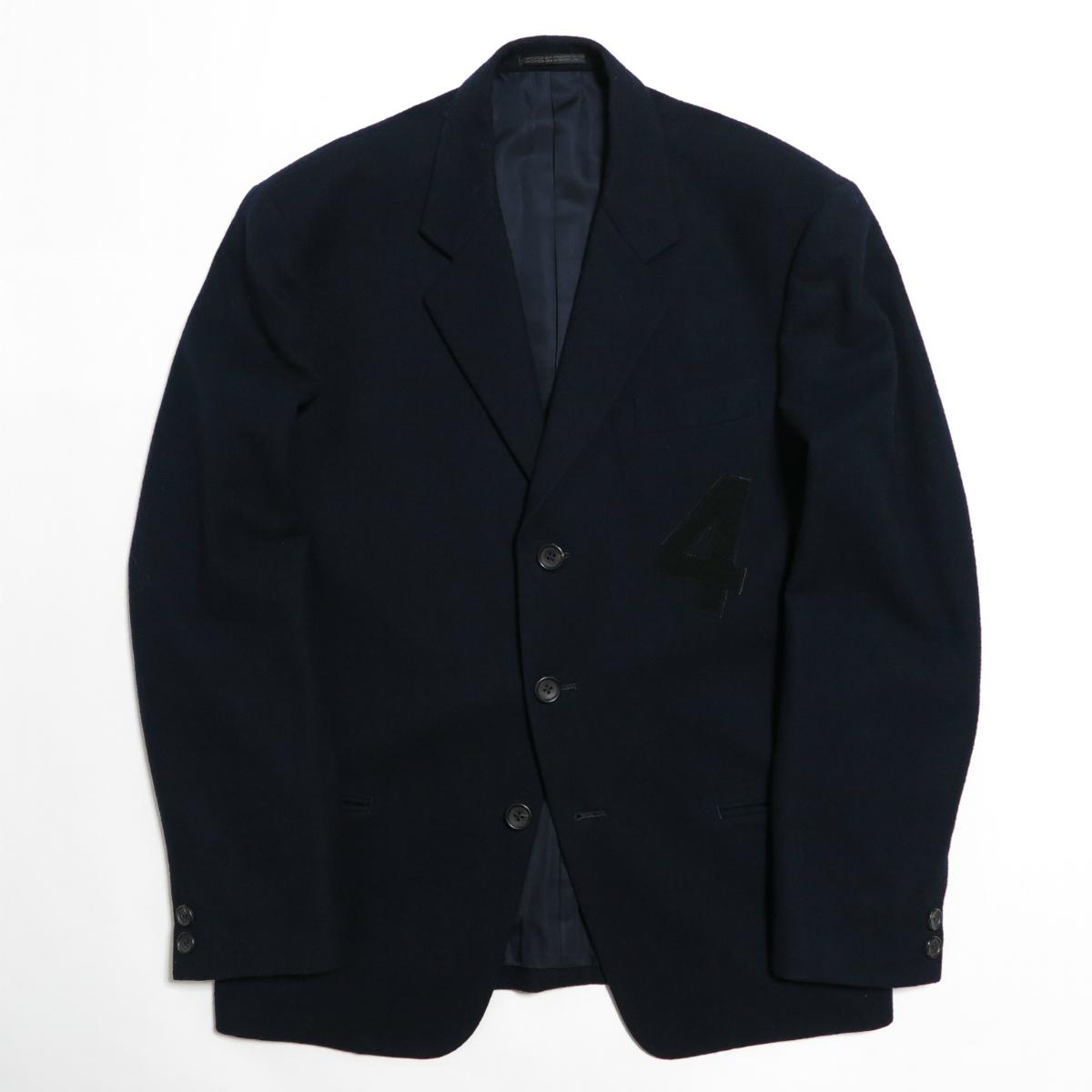 80s Yohji Yamamoto POUR HOMME 1987AW Melton Wool Jacket M ヨウジヤマモト プールオム ジャケット ヴィンテージ アーカイブ 初期_画像1