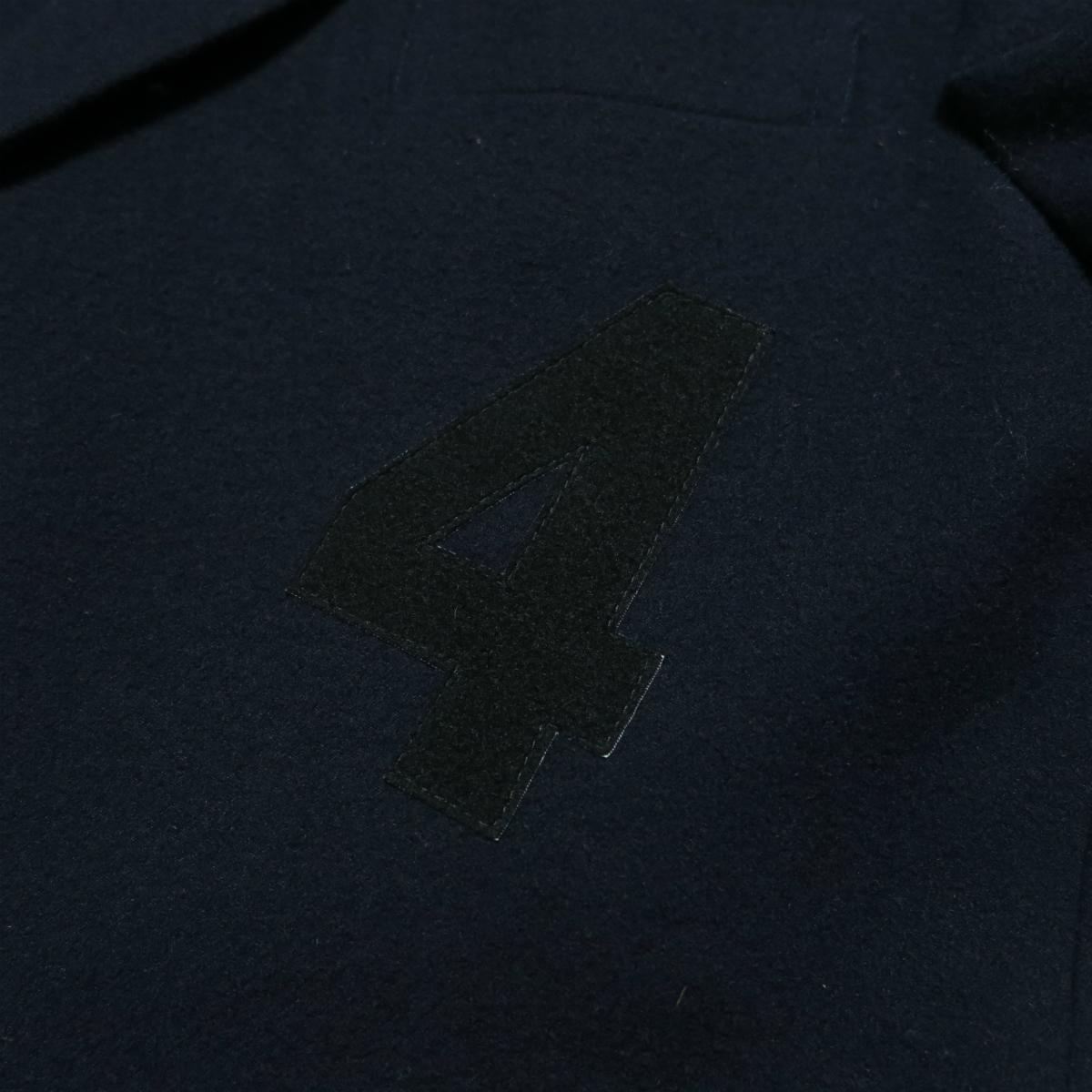 80s Yohji Yamamoto POUR HOMME 1987AW Melton Wool Jacket M ヨウジヤマモト プールオム ジャケット ヴィンテージ アーカイブ 初期_画像3