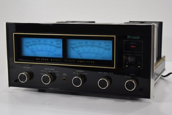動確 最高級 McIntosh マッキントッシュ MC2255 ステレオ パワーアンプ オーディオ機器