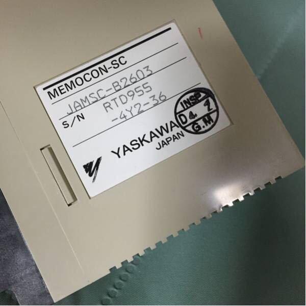 シーケンサ YASKAWA 機械部品 B2603 未使用 MEMOCON-SC_画像1