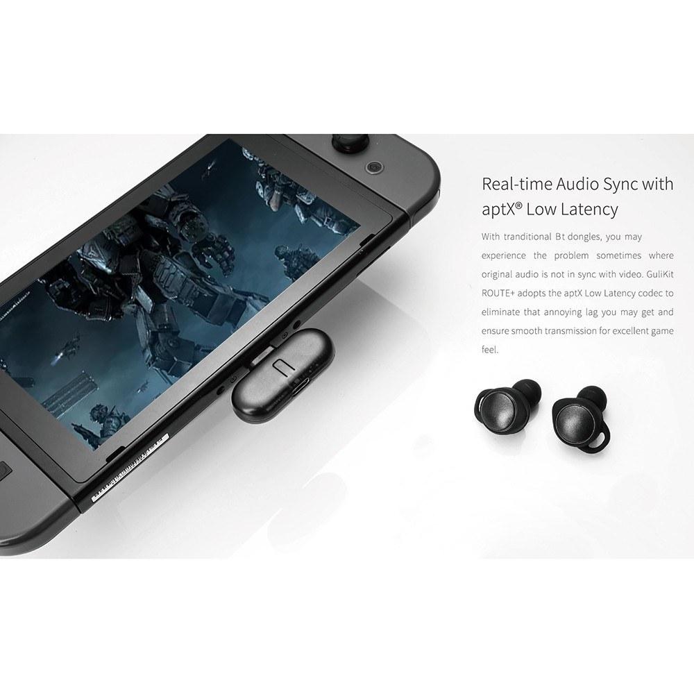 Gulikit ROUTE+ USB Type-C Bluetooth オーディオトランスミッター Nintendo Switch 対応_画像8