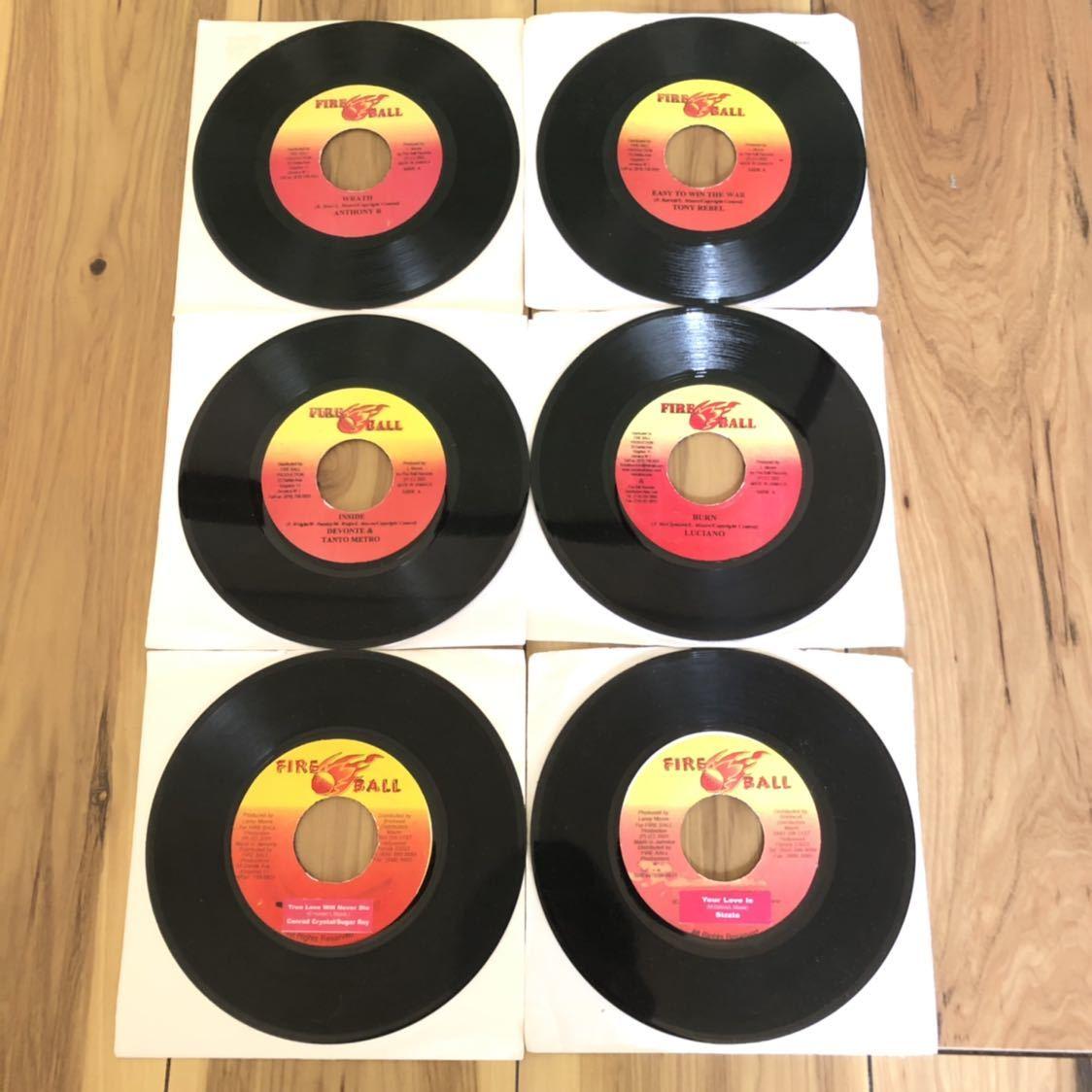 送料無料★レア 2002年大ヒットリズム!! True Love Riddim6枚セット★Conrad Crystal&Sugar Roy, Sizzla, LUCIANO, DEVONTE&TANTO METRO他