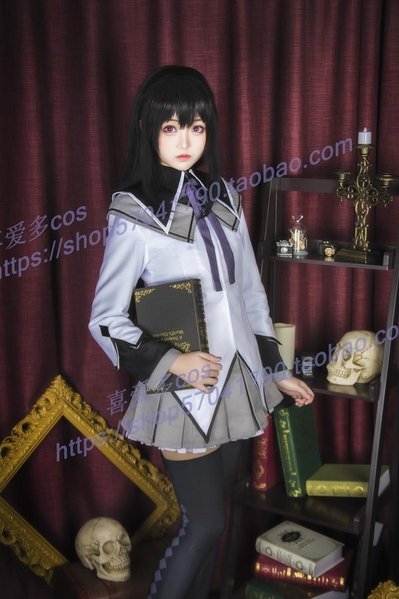限定 コスプレ衣装 ハロウィン 魔法少女まどかマギカ 鹿目まどか ほむら まどマギ フルセット 男女_画像5
