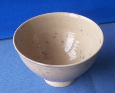 茶道具 呉器茶碗 切高台 韓国製 時代物 合わせ桐箱付_画像3