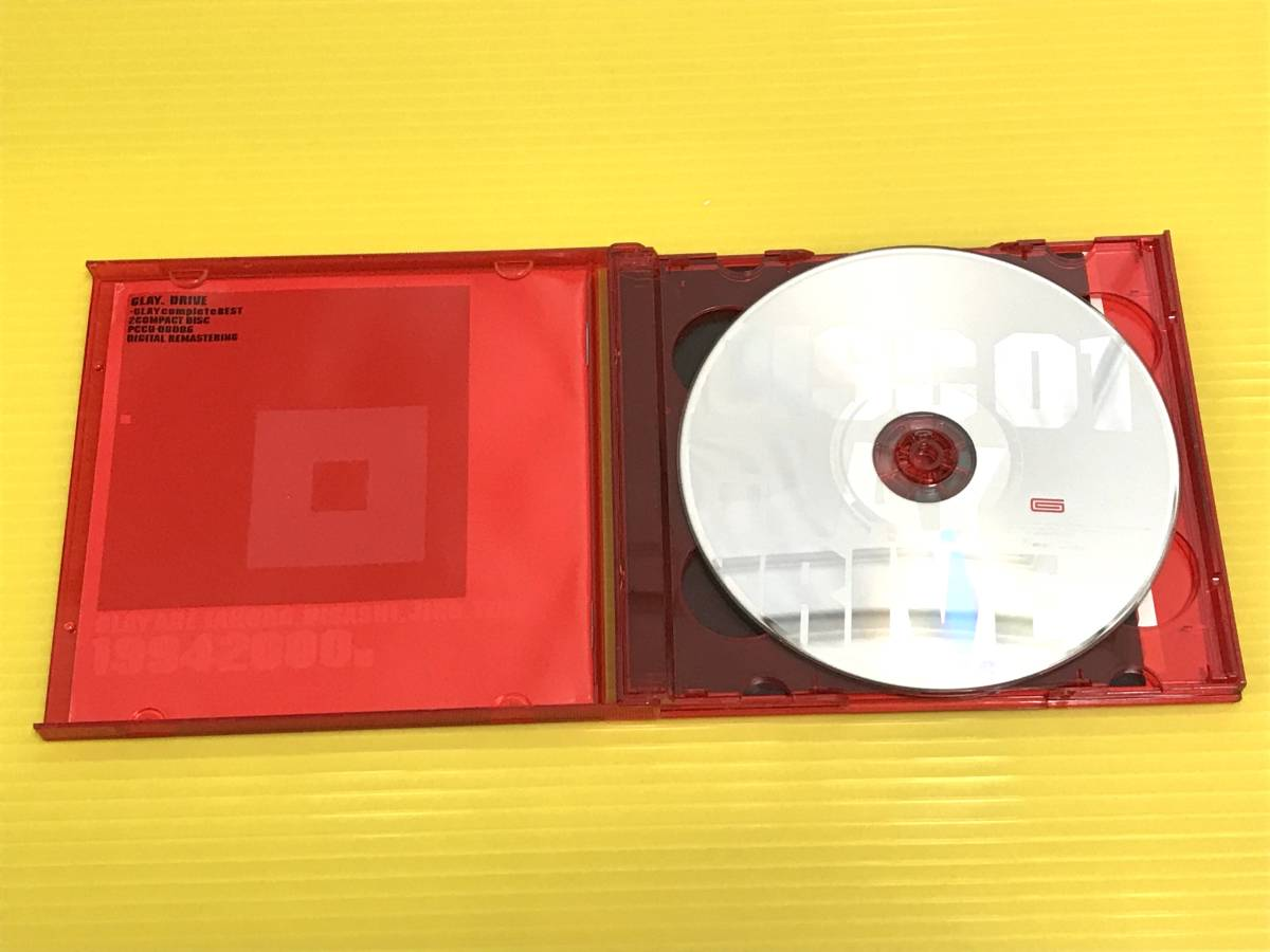 ★GLAY ベストCD2枚セット!★REVIEW - BEST OF GLAY レヴュー~ベスト・オブ・グレイ★DRIVE~GLAY complete BEST**2枚組 ドライブ _画像4