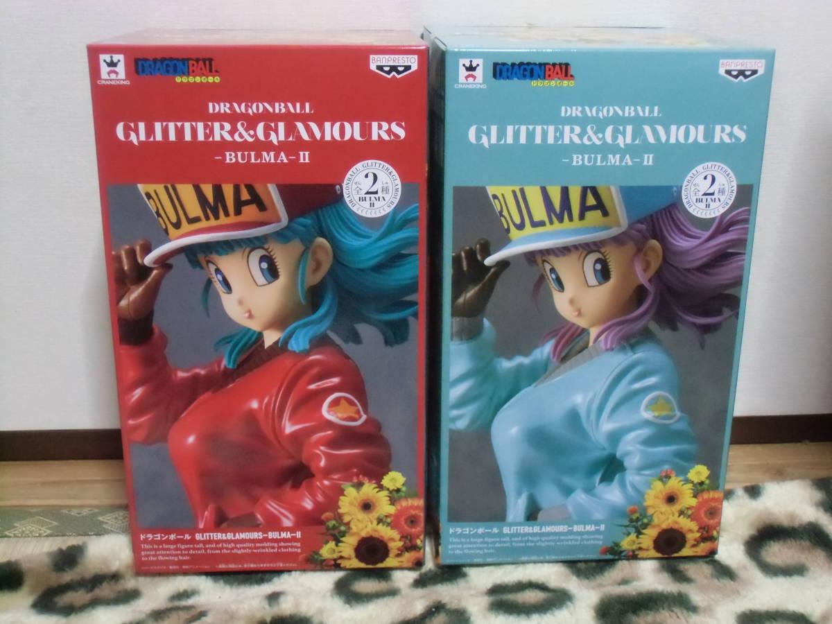 ドラゴンボール GLITTER&GLAMOURS BULMA-Ⅱ ★ブルマ フィギュア 2種 ノーマル レア
