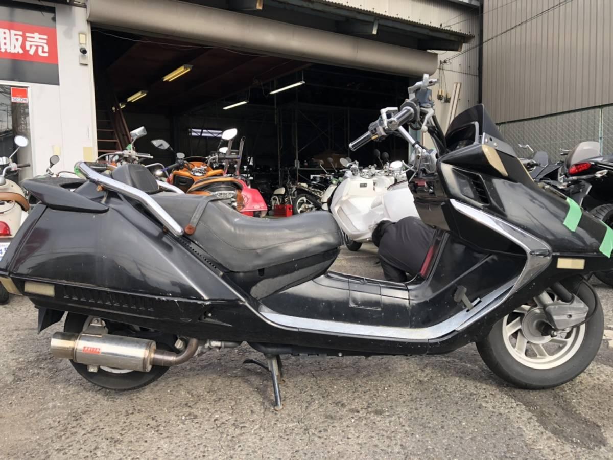 「フュージョン250 エンジン未確認 MF02 過走行 ジャンク品 部品取りに 富田林市から」の画像2