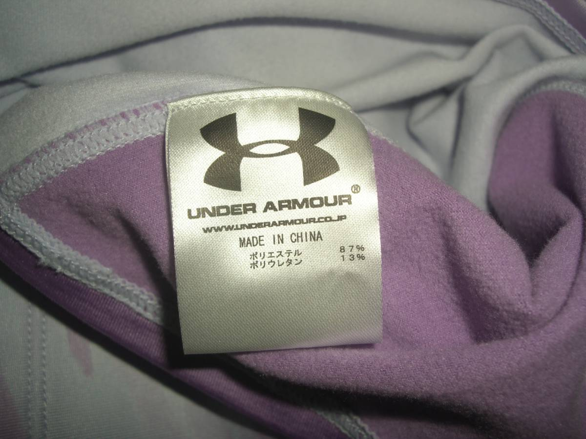 UNDER ARMOUR アンダーアーマー FITTED coldgear ジップアップ パーカー MD_画像4