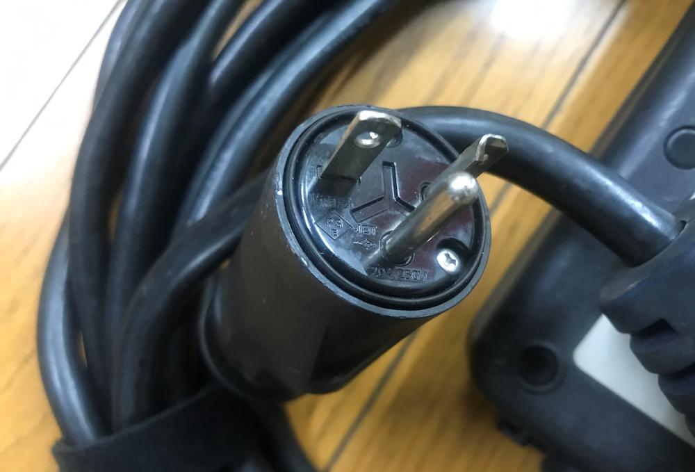 売り切り 日産純正 リーフ 充電ケーブル 7.5m 200V 29690 3NA1A プリウスPHV アウトランダーPHEV等にも②_画像4