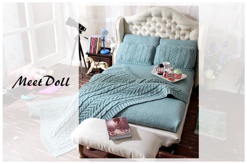 新品 BJD用家具 ベッド SD/MSD/YSDサイズ 全9色 家具 ドール用 doll 球体関節人形用 復古 撮影 MD_画像1