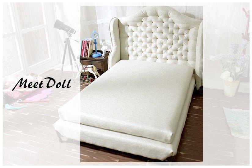 新品 BJD用家具 ベッド SD/MSD/YSDサイズ 全9色 家具 ドール用 doll 球体関節人形用 復古 撮影 MD_画像2