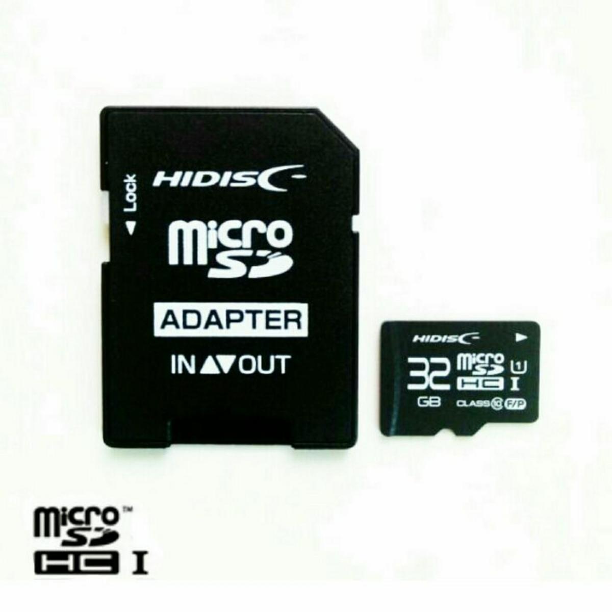 microSDHC32GBメモリーカード(HI-DISC)HDMCSDH32GCL10UIJP3【1円スタート出品・新品・送料無料】_画像2