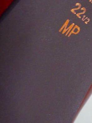 22.5cm*美品*DIANA 甲ストラップ エナメル ハイヒール パンプス レッド パテントレザー ピンヒール_画像10