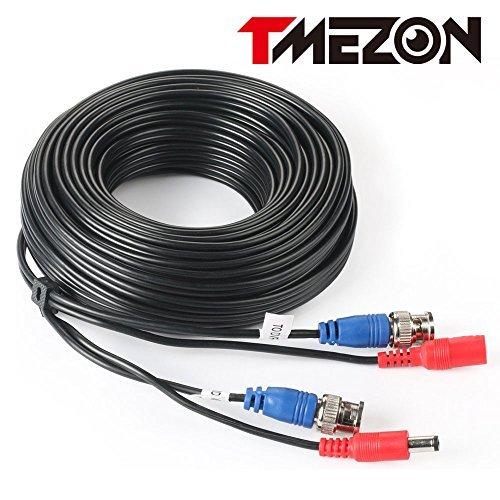 TMEZON CCTV防犯カメラ用 BNC端子 映像/電源一体型 延長ケーブル30M_画像1