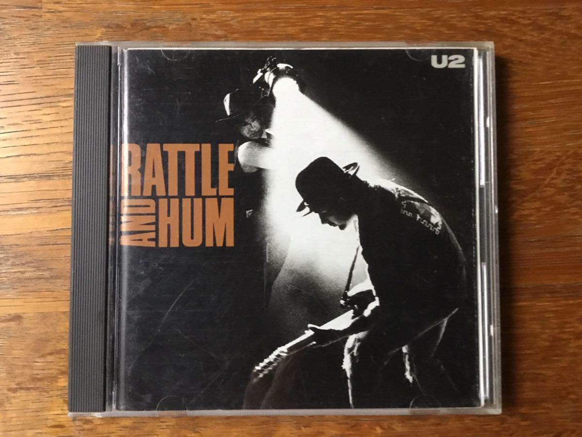 国内盤CDアルバム『魂の叫び』(Rattle and Hum) U2_画像1