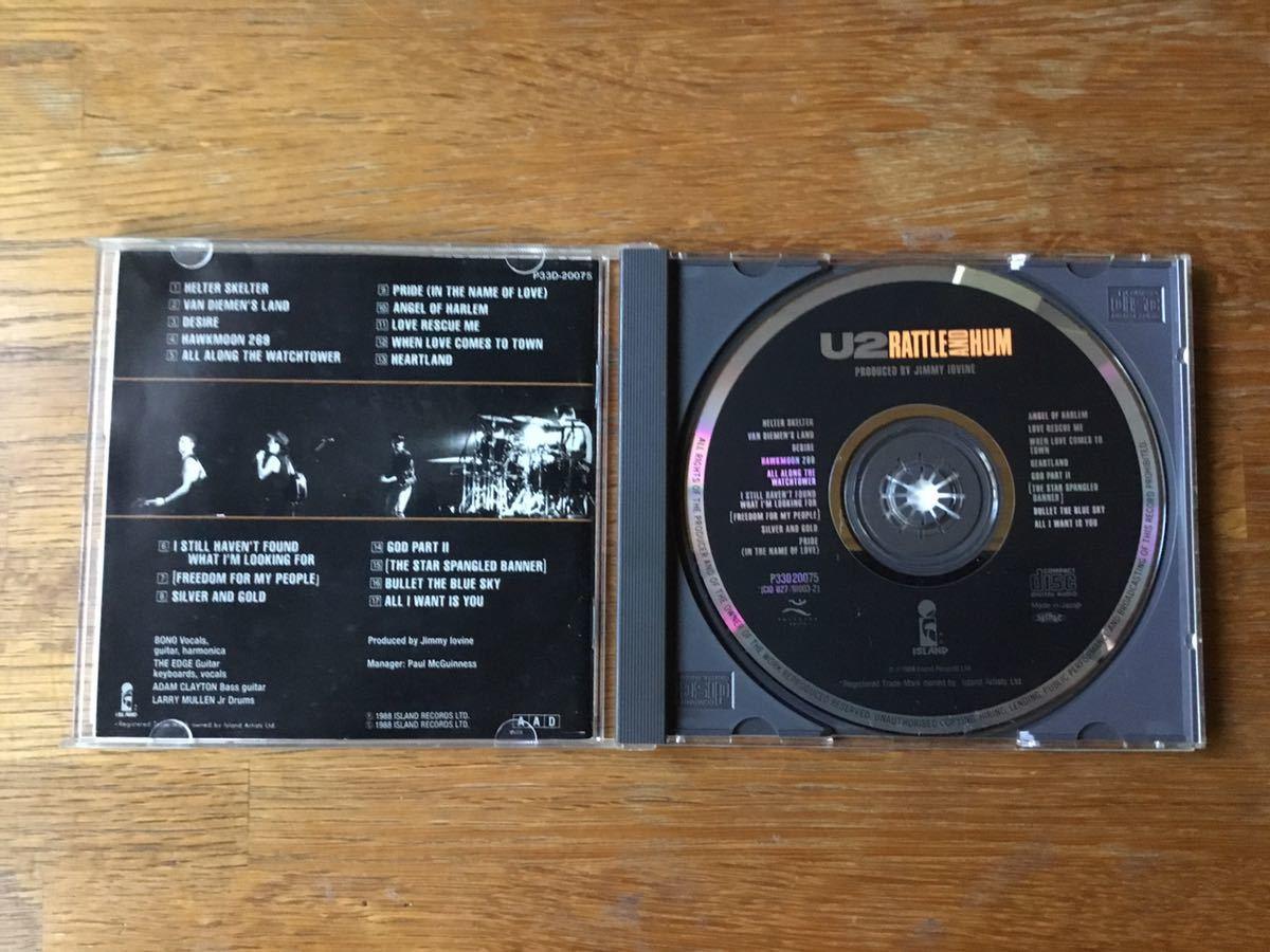 国内盤CDアルバム『魂の叫び』(Rattle and Hum) U2_画像5