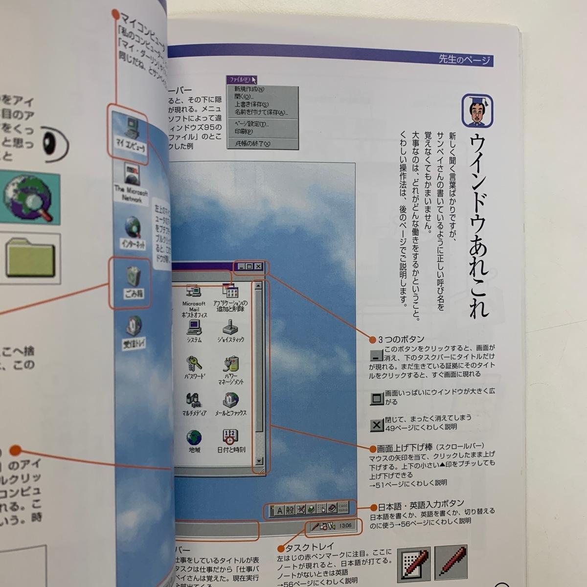 パソコンの「パ」の字から サトウサンペイ Paso増刊 朝日新聞社 1994年 <ゆうメール>_画像2