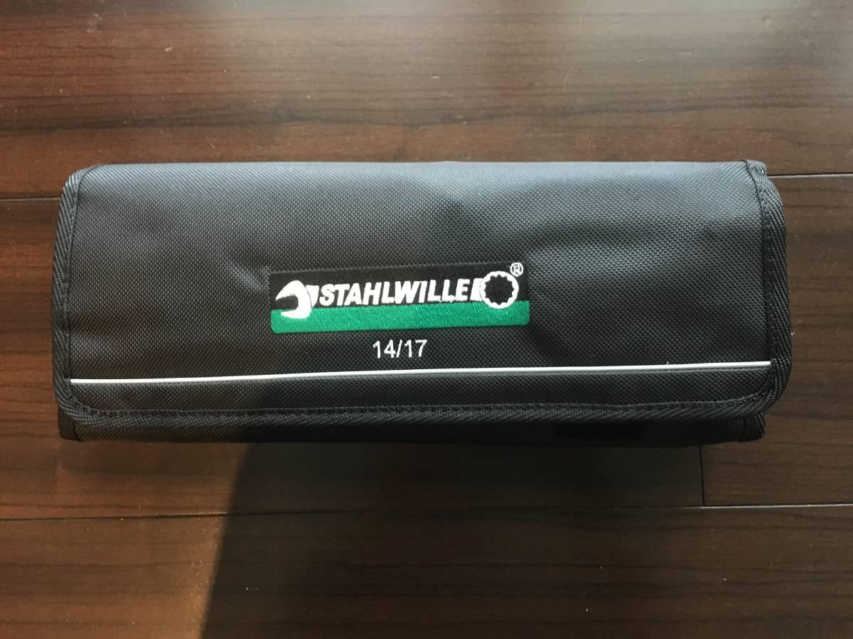 スタビレー STAHLWILLE ロング コンビネーションレンチ 14 17pc オープンボックス コンビネーションスパナ 17本セット 残1特別価格!!_画像3