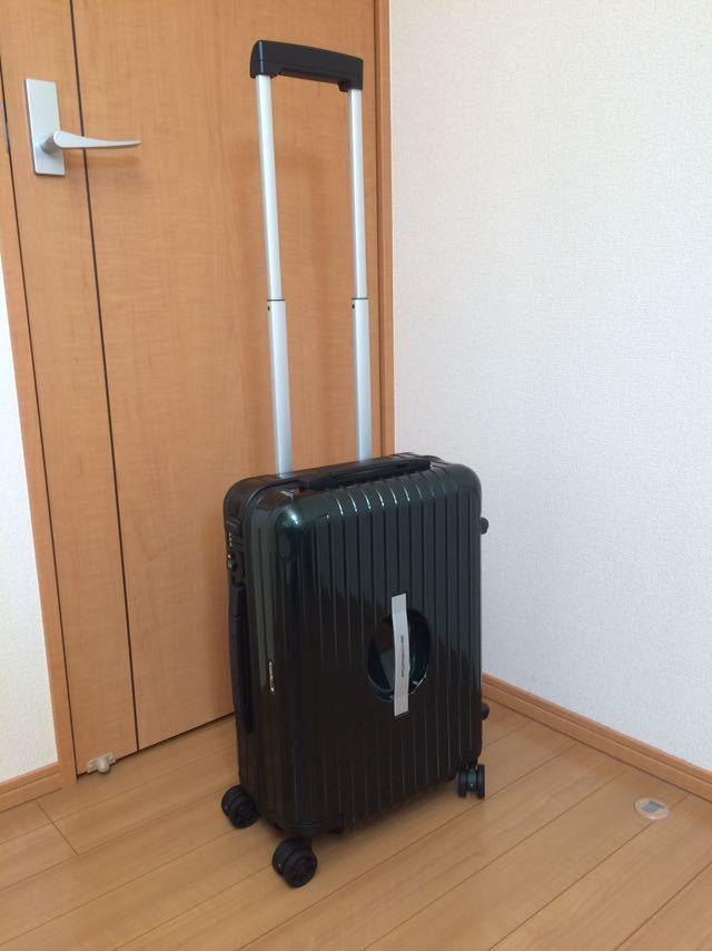 ポルシェ トローリーM 超軽量スーツケース リモワRIMOWA キャリーケース 機内持込 ジェットグリーン 送料無料 特注品