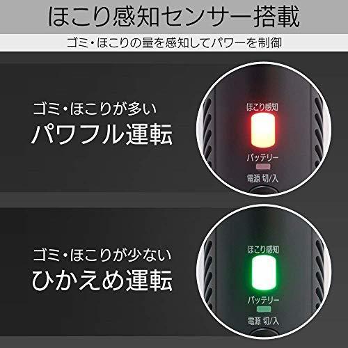 アイリスオーヤマ 極細軽量スティッククリーナー 静電モップ付き 掃除機 パワーヘッド 2WAY 紙パック式 コードレス IC-S_画像6
