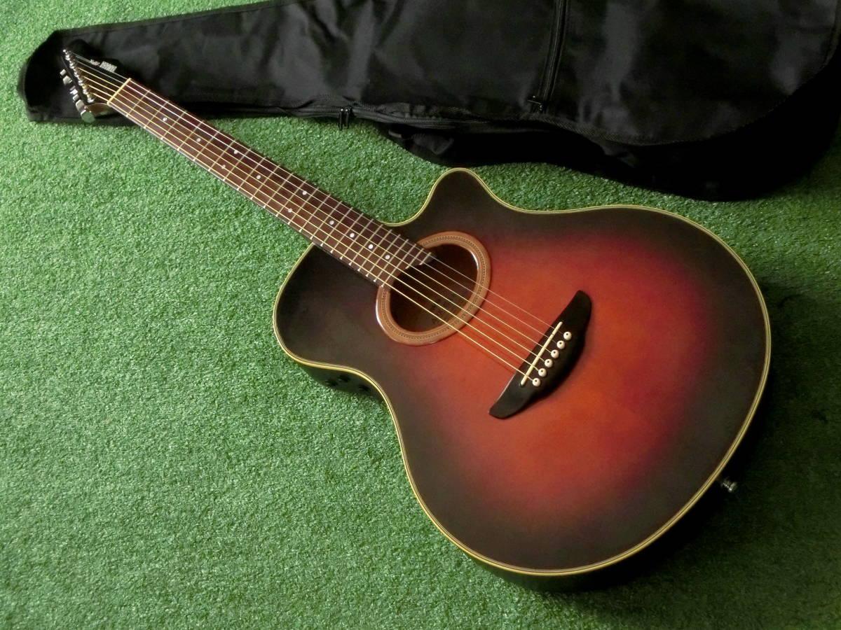 即決 YAMAHA APX-6S エレアコギター 良音ヤマハ製エレクトリックアコースティックギター 新品アコギ用ケース付属