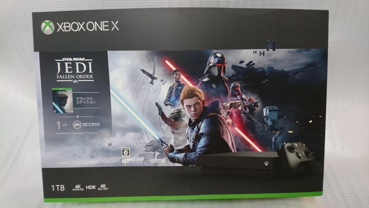 欠品あり【送料無料】ほぼ新品 Xbox One X Star Wars ジェダイ:フォールン・オーダー デラックス エディション 保証あり