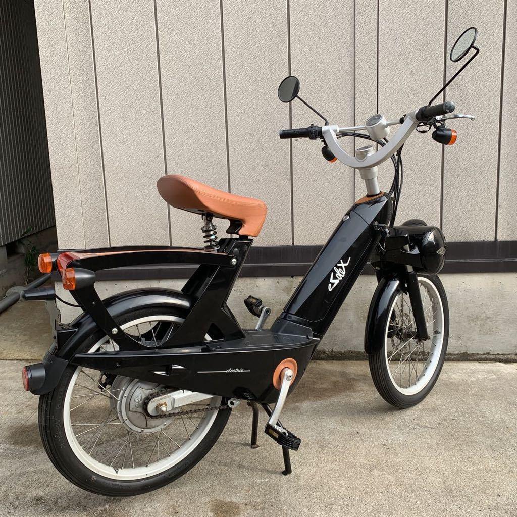 「売切り 希少 ペダル付き 電動バイク 電動自転車 SODOX ナンバー取得後、公道走行 全国配送可 検(ビーノ ブレイズスマートEV」の画像3