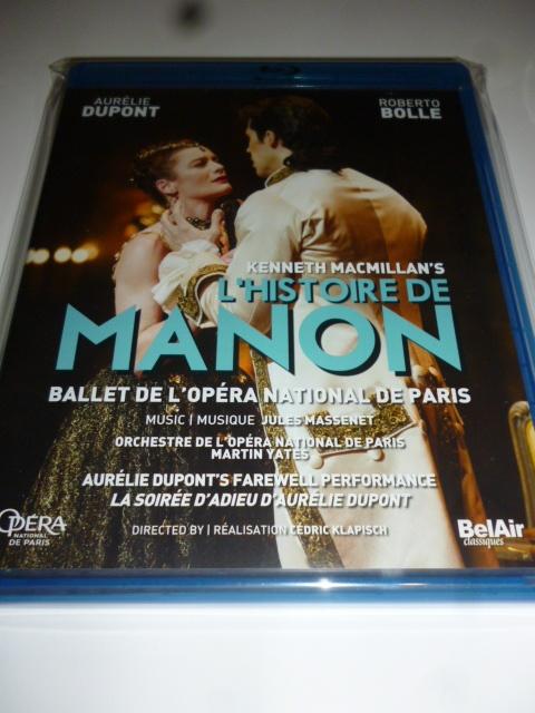 BD バレエ「マノン」 パリ・オペラ座バレエ デュポン、ボッレ_画像1