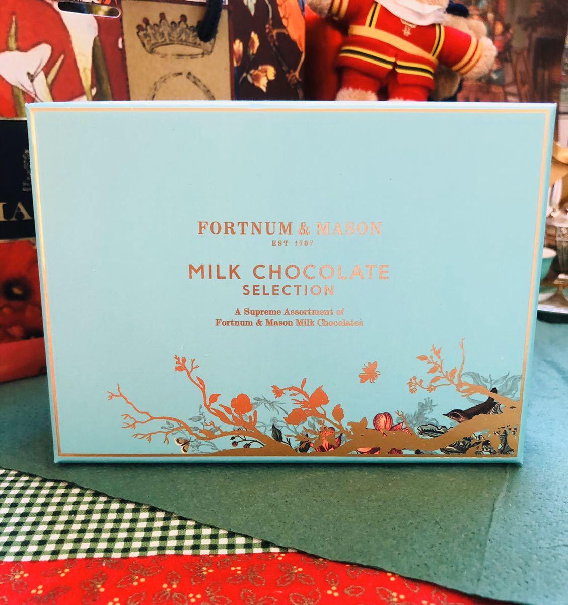 バレンタインにも【ミルクチョコレート・セレクションボックス 120g】ひと粒ずつが宝もの~フォートナム&メイソン_画像7