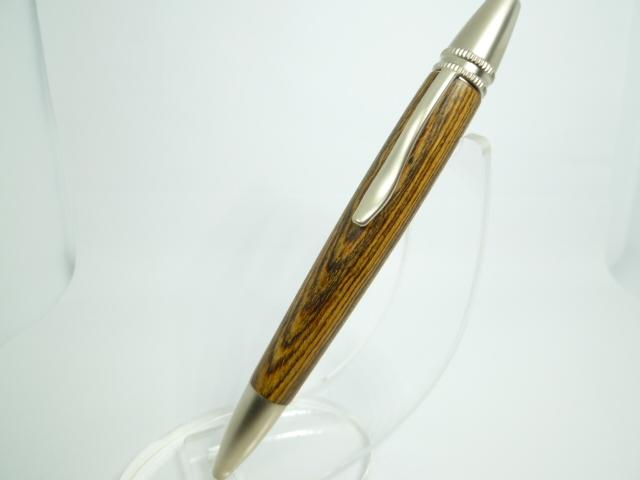 希少 黄金壇  ロングタイプ 木製ボールペン 三菱ジェットストリーム芯