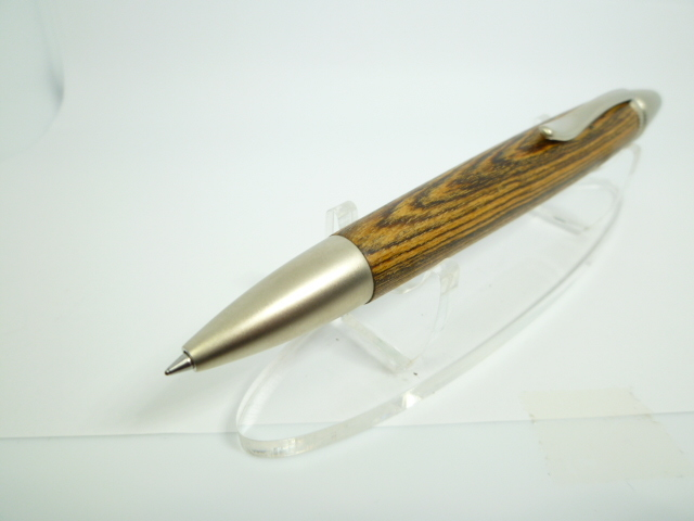 希少 黄金壇  ロングタイプ 木製ボールペン 三菱ジェットストリーム芯_画像2