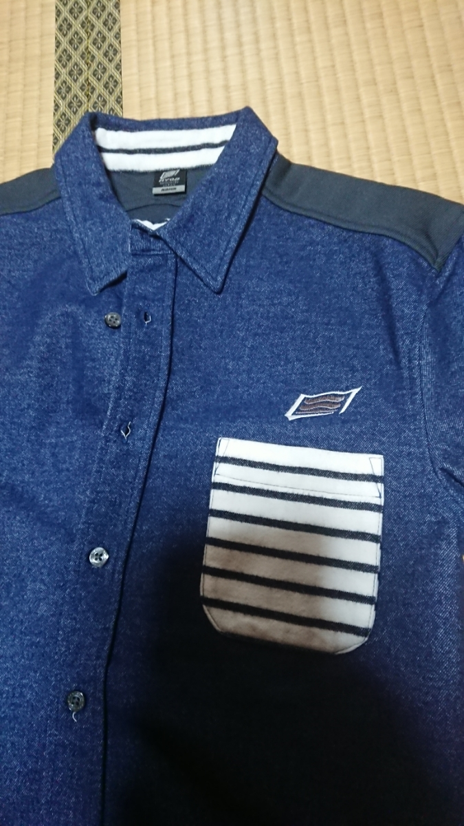 【美品】HYOD ヒョウドウ ウィンドブロックシャツ サイズM STI7057100M_画像3