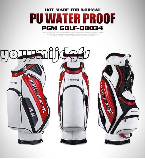 高品質防水多機能 キャディバッグ ゴルフバッグ スポーツ ゴルフ用品 長持ち 耐久性 大容量 高品質素材 yoyu 8