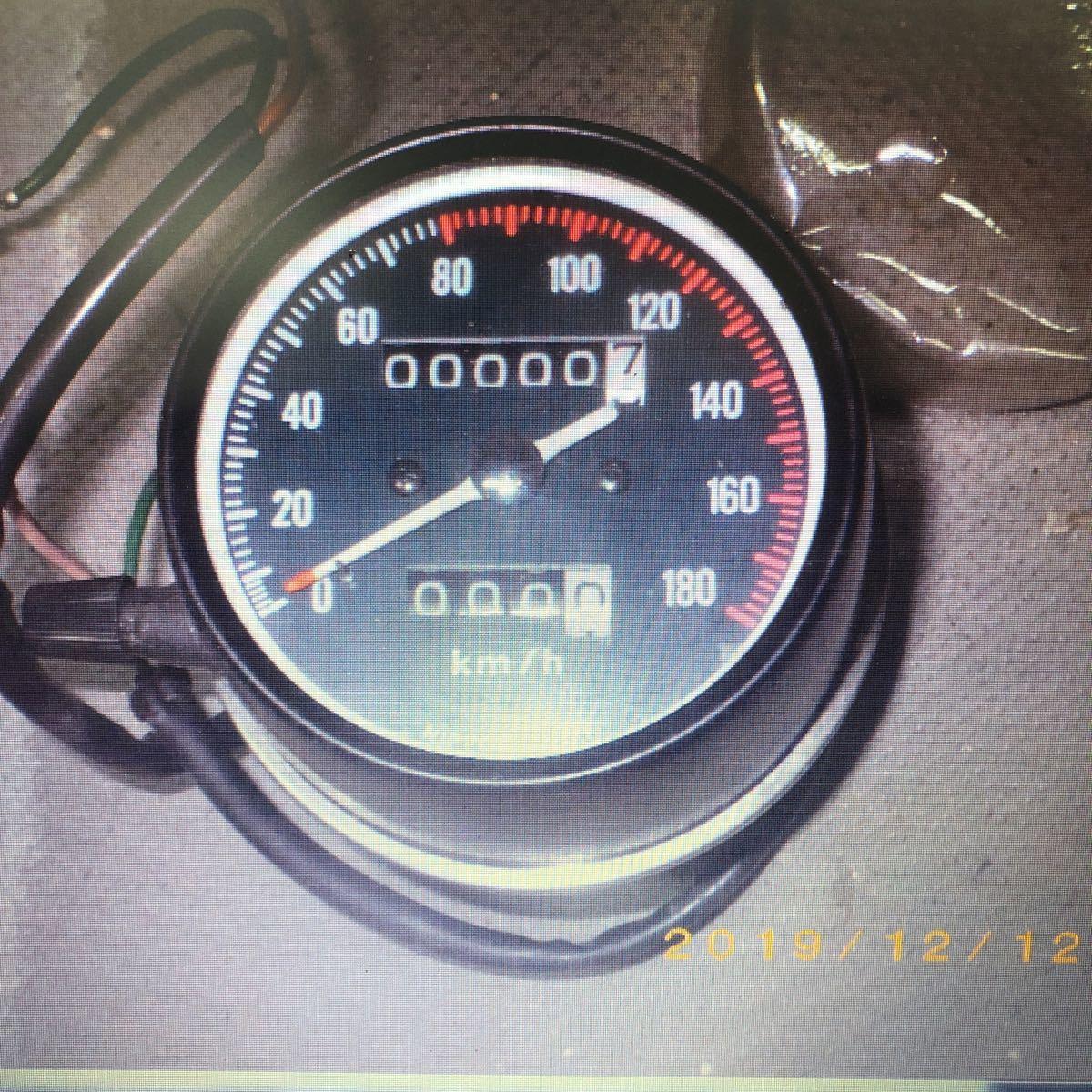 ホンダCB400F新品のスピードメーター