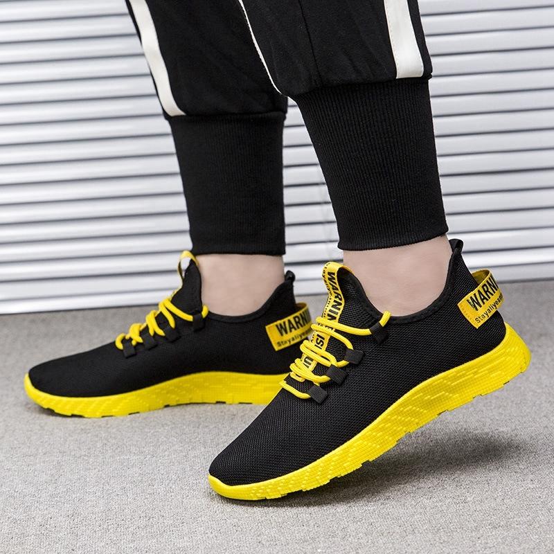 軽量男性靴メンズスニーカー赤カジュアルシューズ快適な通気性メッシュスポーツ男性靴 Tzapatos デ Hombre 2019 新_画像6