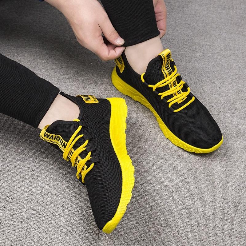 軽量男性靴メンズスニーカー赤カジュアルシューズ快適な通気性メッシュスポーツ男性靴 Tzapatos デ Hombre 2019 新_画像4