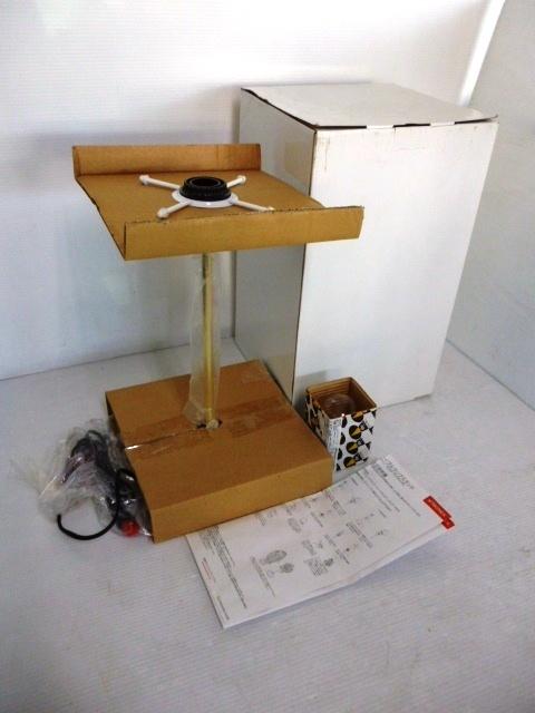 【未使用品】 ★ Artecnica / アーテクニカ ★ TABLE LAMP STAND BRASS テーブルランプスタンド 金色 箱あり