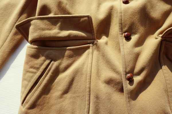 ◆ 50's McGREGOR マクレガー ウールジャケット ハーフコート 38 M ベージュ/ビンテージ オールド アメリカ古着 レトロ ロカビリー_画像5