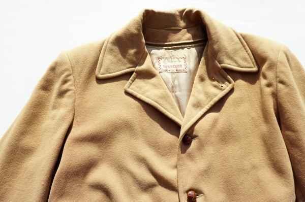 ◆ 50's McGREGOR マクレガー ウールジャケット ハーフコート 38 M ベージュ/ビンテージ オールド アメリカ古着 レトロ ロカビリー_画像2
