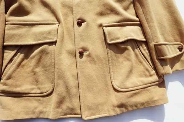 ◆ 50's McGREGOR マクレガー ウールジャケット ハーフコート 38 M ベージュ/ビンテージ オールド アメリカ古着 レトロ ロカビリー_画像3
