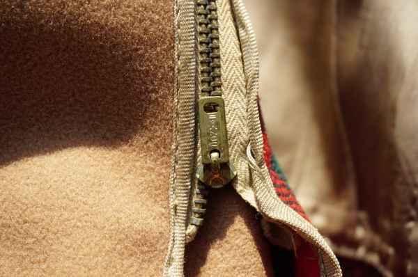 ◆ 50's McGREGOR マクレガー ウールジャケット ハーフコート 38 M ベージュ/ビンテージ オールド アメリカ古着 レトロ ロカビリー_画像8