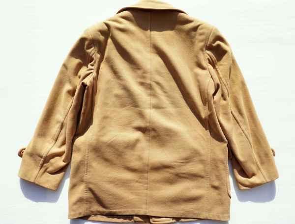 ◆ 50's McGREGOR マクレガー ウールジャケット ハーフコート 38 M ベージュ/ビンテージ オールド アメリカ古着 レトロ ロカビリー_画像9