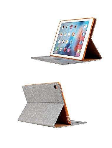 iPad Pro9.7 レザーケース 9.7 インチ iPad Pro 9.7 ケース アイパッドプロ9.7 レザーケース 全面保護 耐衝撃 スタンド カード収納_画像4