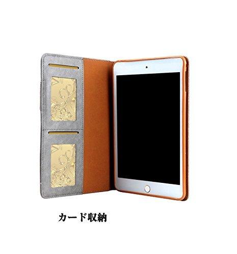iPad Pro9.7 レザーケース 9.7 インチ iPad Pro 9.7 ケース アイパッドプロ9.7 レザーケース 全面保護 耐衝撃 スタンド カード収納_画像3