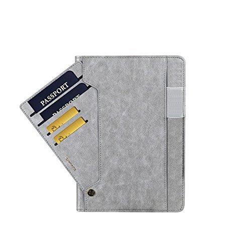 iPad Pro9.7 レザーケース 9.7 インチ iPad Pro 9.7 ケース アイパッドプロ9.7 レザーケース 全面保護 耐衝撃 スタンド カード収納_画像2