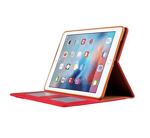 iPad Pro9.7 レザーケース 9.7 インチ iPad Pro 9.7 ケース アイパッドプロ9.7 レザーケース 全面保護 耐衝撃 スタンド カード収納_画像10