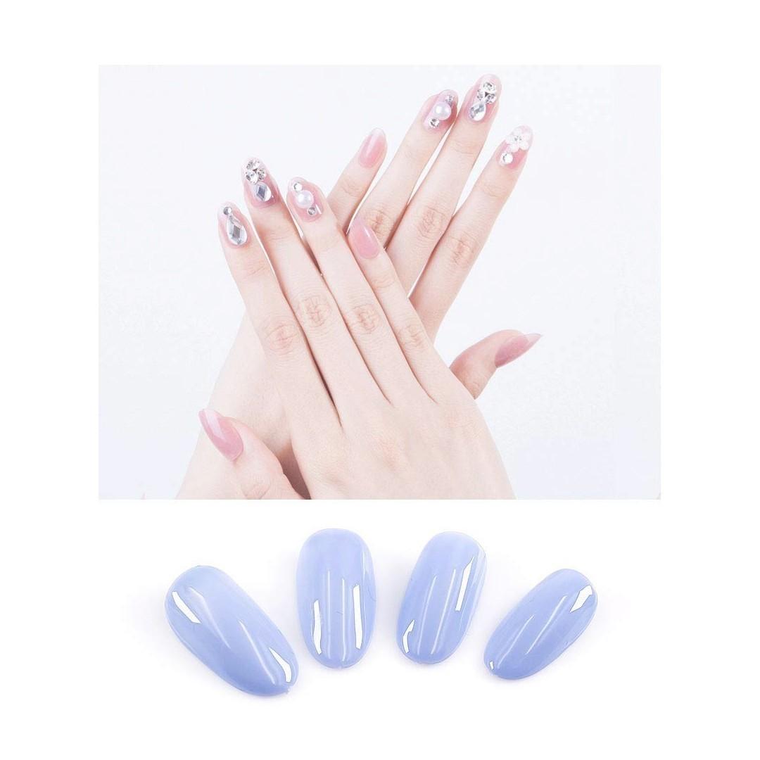 ネイルチップ 500枚 10サイズ 透明ネイルチップ DIYネイル飾り 爪用