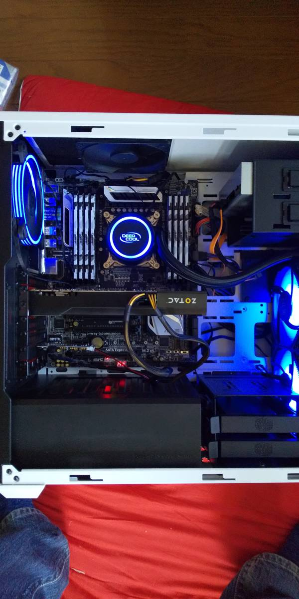 自作PC Xeon E5 2690v3(ES品) Asus X99-A メモリ64GB ZOTAC GTX670 2G SSD250G 電源500W_画像4