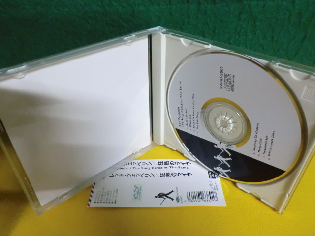 CD Led Zeppelin The Song Remains The Same レッド・ツェッペリン 熱狂のライヴ_画像2