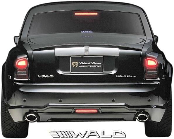【M's】Rolls Royce PHANTOM (2003y-2008y) WALD Black Bison トランクスポイラー//ウイング FRP ヴァルド バルド エアロ ロールス_画像2